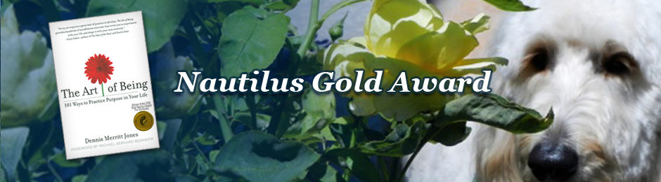 The Art of Being Wins Nautilus Gold Award